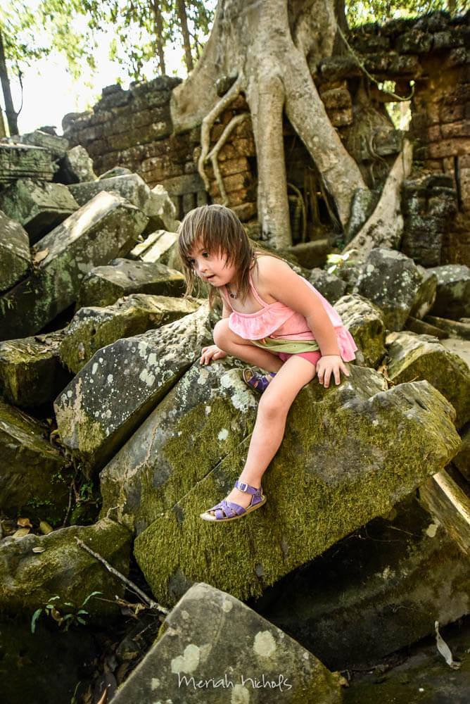Meriah Nichols Ta Prohm Angkor Wat -6