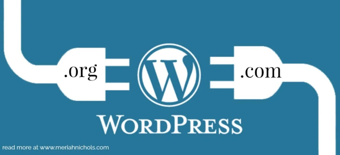 understanding the difference between wordpress.org and wordpress.com