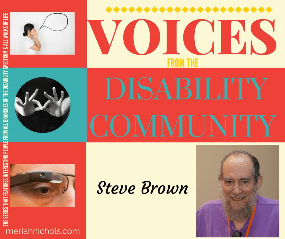 Steve Brown, PhD is featured in this week's