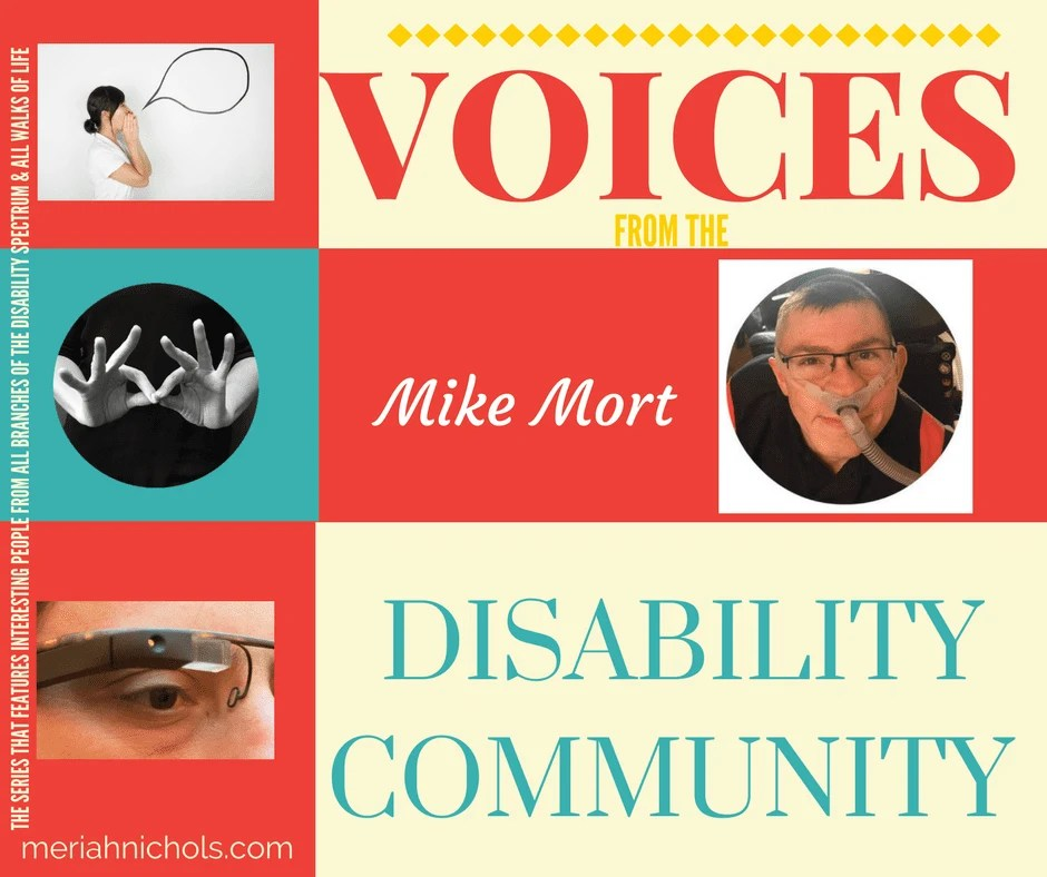 Mike Mort in Voices from the Disability Community