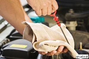 oil check car mechanic car repair