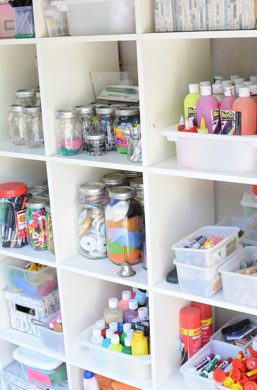 One Crafty Moms Quest To Organize Her Art Supplies Meri