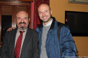 Candidati: Gianpaolo Cassese con Pino Aprile