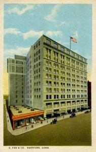 The G. Fox & Co building Hartford, CT