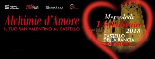 """A San Valentino, """"Alchimie D'Amore"""" Al Castello Della Rancia"""