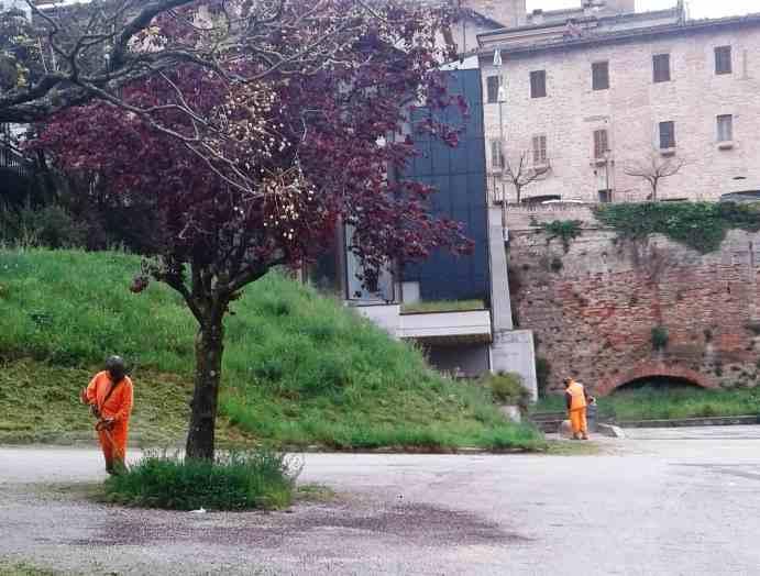 Pulizia Parcheggio A Sarnano