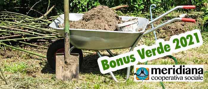 Detrazione Bonus Verde 2021