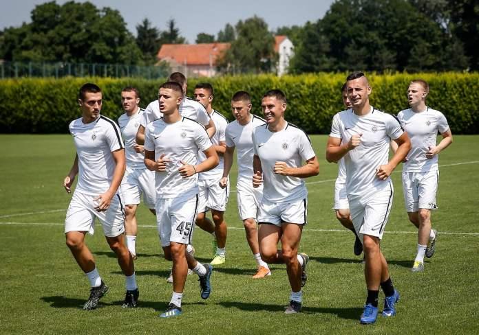 OKUPILI SE CRNO-BELI: Partizan počinje pripreme za novu sezonu