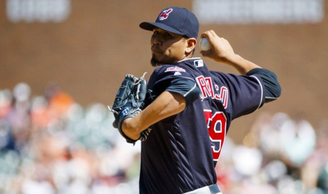 Carlos Carrasco / Foto: MLB