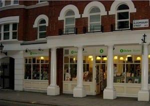 Oxfam, Londres