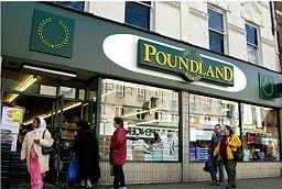Poundland, Londres