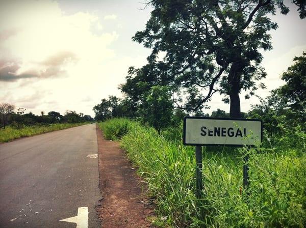 Frontera Gambia Senega