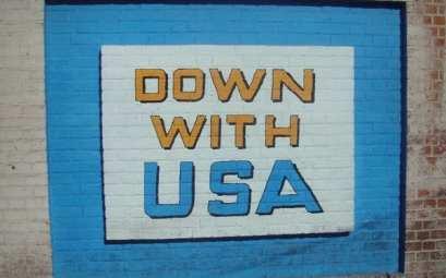 Down with USA, Teherán