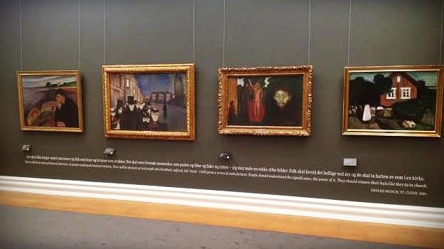 Munch, Bergen