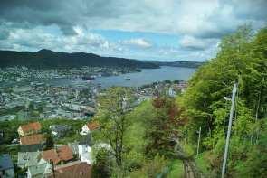 Floibanen, Bergen