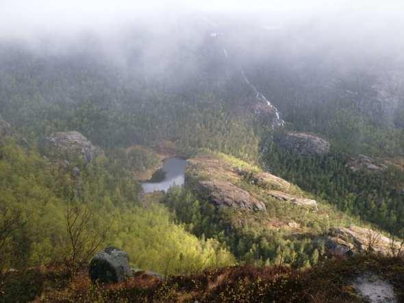 Preikestolen, fiordos noruegos