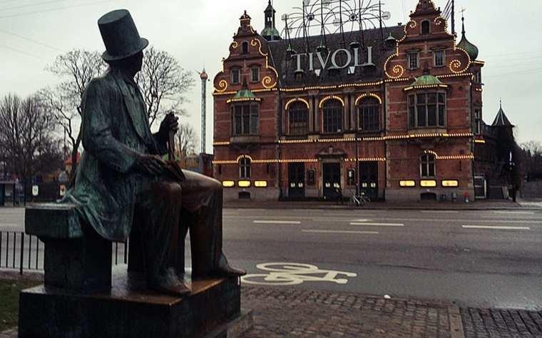 Copenhague, Tivoli y Hans Christian Andersen