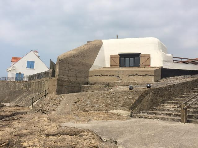 Casa búnker de la Gran Guerra en Audesselles, Norte Paso de Calais