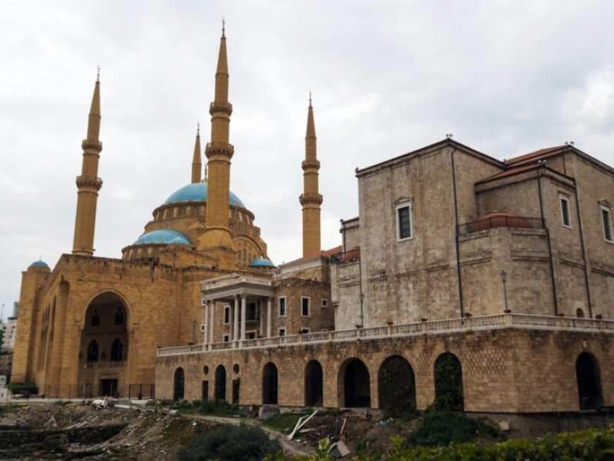 Mezquita Beirut, Líbano