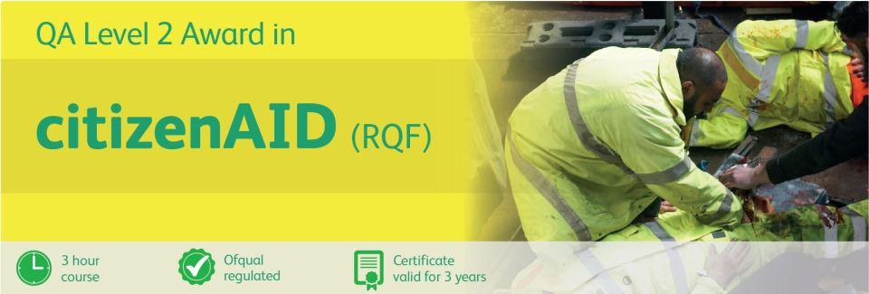 CPR & AED Level 2 Award Half Day