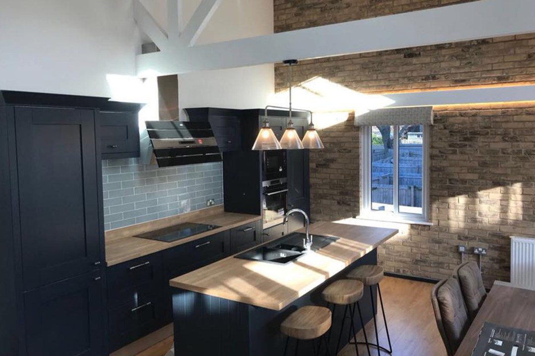 Second Nature Milbourne Shaker Kitchen Dorset
