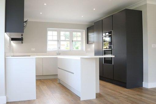 Black and White Kitchen – Modern Fitted Kitchen Ringwood