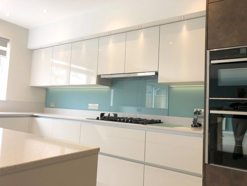 Modern Handleless Kitchen in Friars Cliff, Christchurch