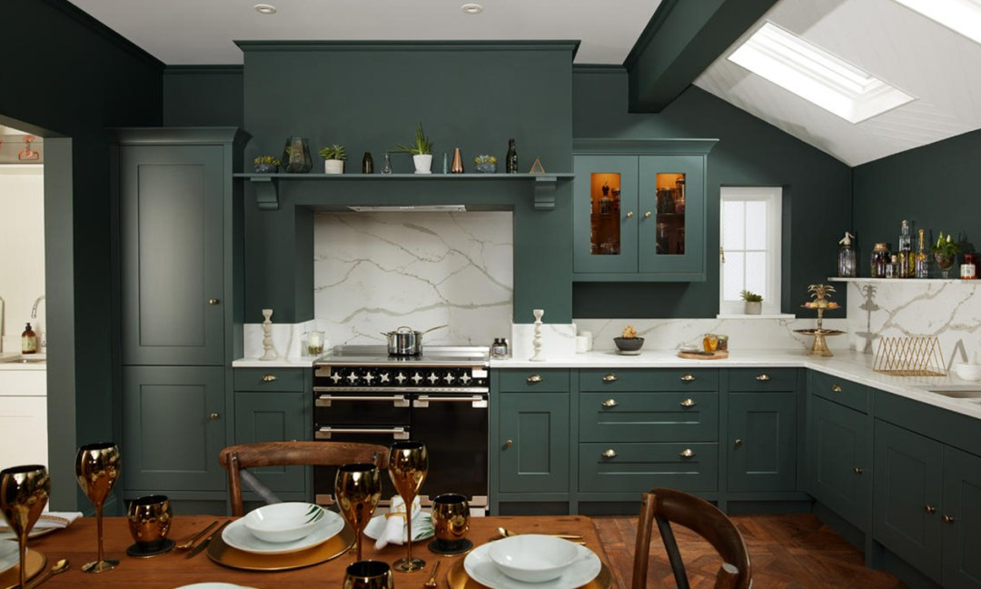 Second NAture Fitzroy, classic shaker style door with a smooth painted finish