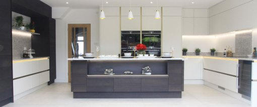 Modern Fitted kitchen in Ferndown