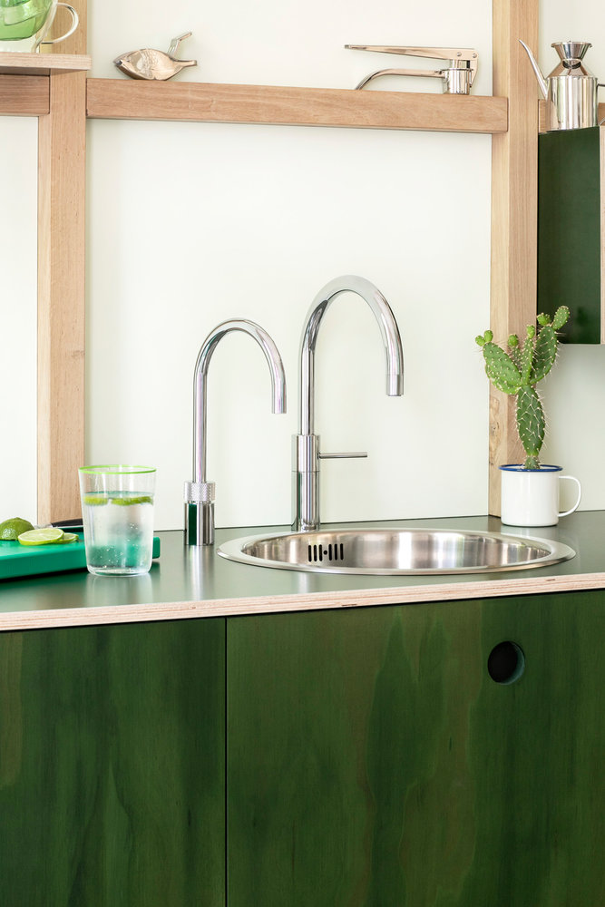 Quooker Nordic Twin Taps Round