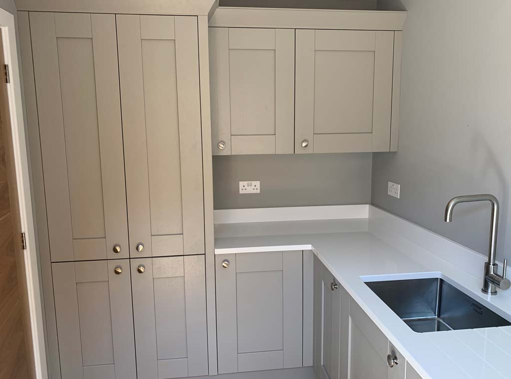 utility room - new build fitted kitchen ringwood