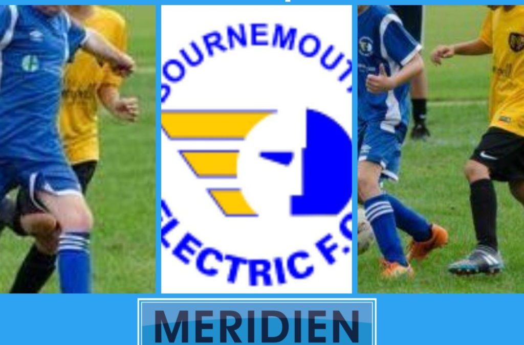 Meridien Interiors Proud Sponsors of Bournemouth Electric Under 15's