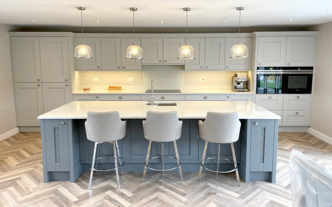 Modern Country Kitchen in Ringwood