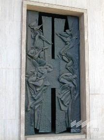 Cancello cappella funeraria 4