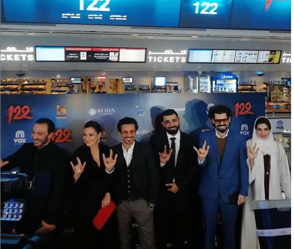 فيلم 122 يثير الجدل في دبي عند عرضه لأول مرة