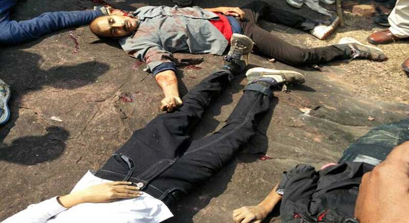 Bhopal police shot dead 8 SIMI members escaped from Bhopal Central Jail. (Web Extract).