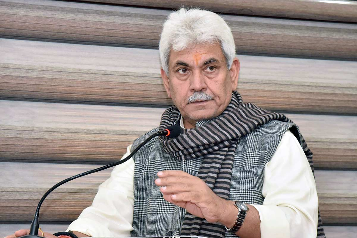 Manoj Sinha Lt Governor Jammu and Kashmir
