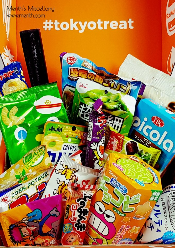 Tokyotreat Review Japanese Candy August  Asian Summer Festival Unboxing