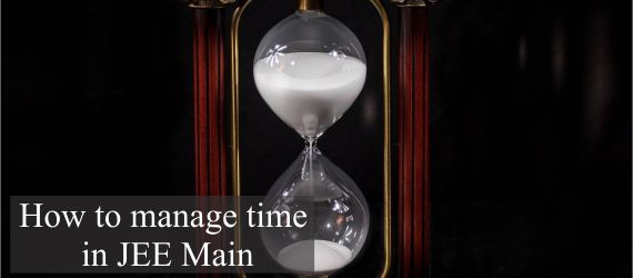 How to manage time in JEE Main