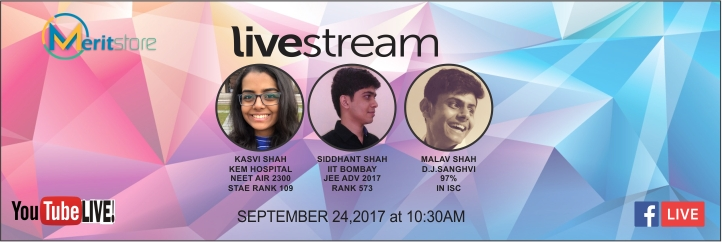Live on Merit Store : Talk to Medical Students and IITians