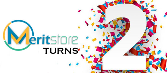Meritstore turns 2 Years Old !