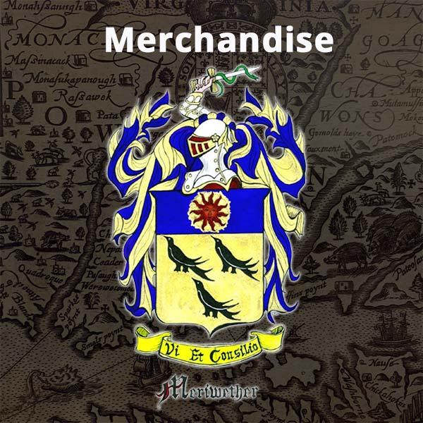 Meriwether merchandise