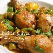 Algerian Chicken Olive Tagine