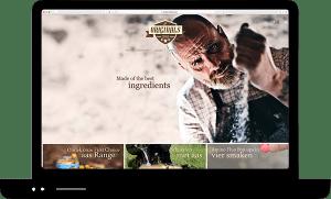 Webshop Originals Boilies Design