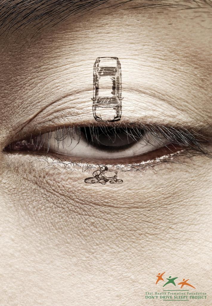 Advertentie uitrusten rijden