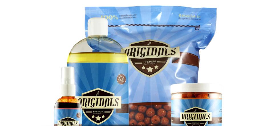 Originals Boilies verpakkingen