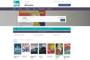 nieuwe website bibliotheek merksplas