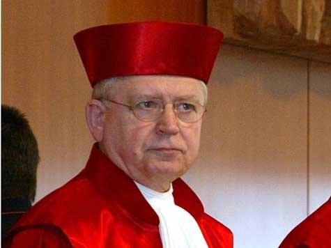 Bild: Bundesverfassungsrichter Hans-Joachim Jentsch