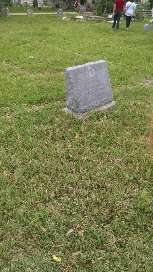 Mrs. Curry's Grave