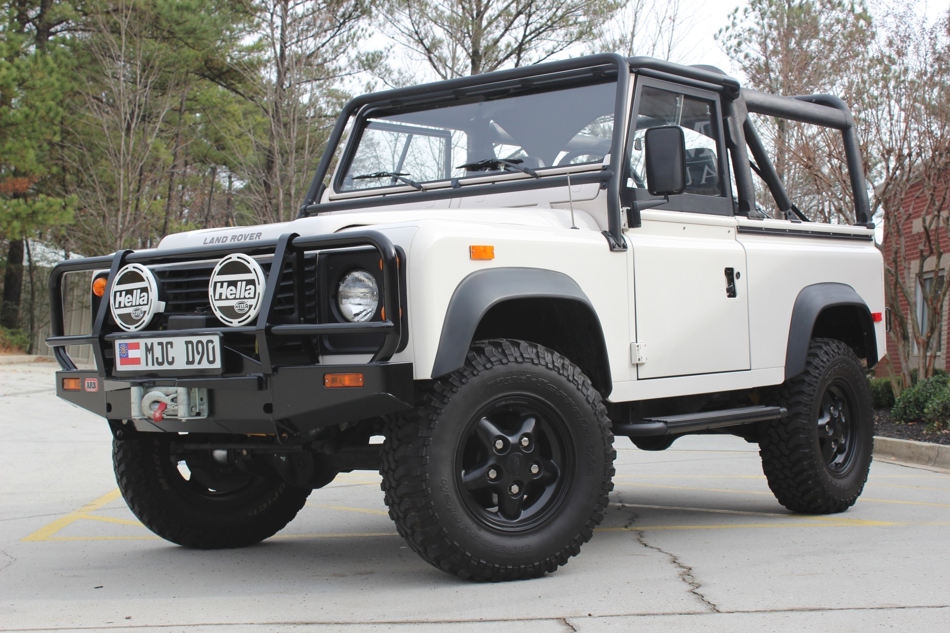 Used 1994 Land Rover Defender 90 stock P9944 Ultra Luxury Car
